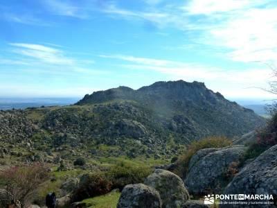 Las Machotas - Senderismo entresemana - Pico de El Fraile y los Tres Ermitaños; rutas madrid a pie